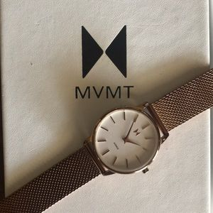 MVMNT Boulevard Malibu 38mm Rose Gold Watch